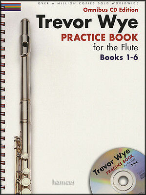 Trevor Wye Practice Book for Flute Books 1-6 Complete Omnibus CD Edition