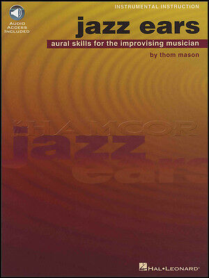 Jazz Ears Aural Skills for the Improvising Musician Sheet Music Book/Audio