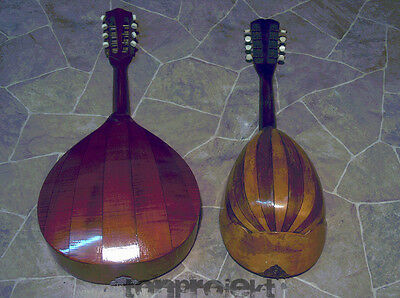 2 x Project Mandolin Old 8String Mandolin Germany Hobbyists to the Prepare
