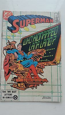 Superman #391 Vol 1 DC Comics