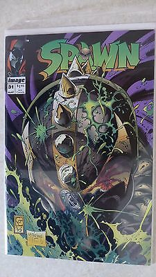 """Spawn Issue 31 """"First Print"""" - 1992 to present McFarlane"""