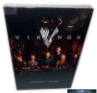 Vikings - Staffel/Season 4 - Volume 1 (4.1) [DVD] 3-Disc, Deutsch(er) Ton