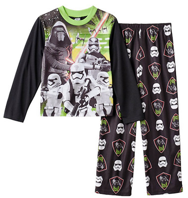 STAR WARS Join The Order Boys 2 Piece L/S PAJAMA SET Size 8 NWT