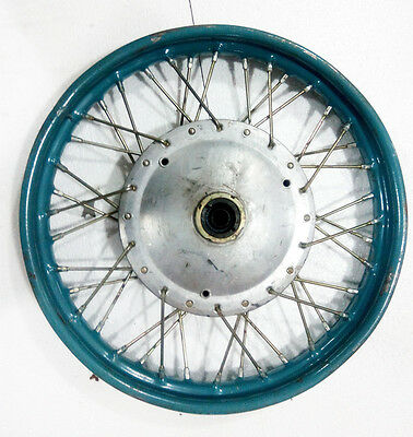 Wheel assembly (without tires), blue for  Dnepr, K750