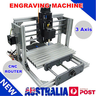 3Axis 2417T CNC Router Engraver Engraving Machine Desktop Carving Cutter DIY Kit