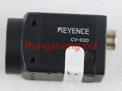 1PC Used KEYENCE CV-020 CCD CAMERA FOR VISION SYSTEM Tested#RS08