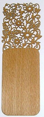 Filigree Wood Bookmark Butterfly 15 cm