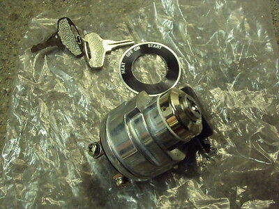 Ignition Switch With Pre-Heat For Tractor / Plant Machinery Brand New