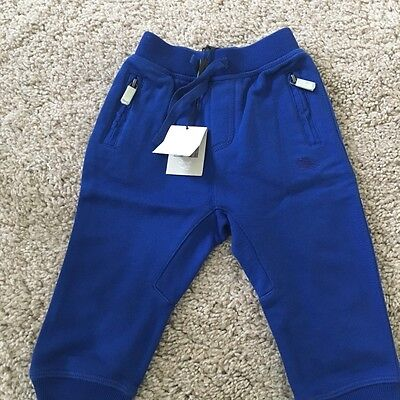 Burberry Baby Boys Blue Joggers