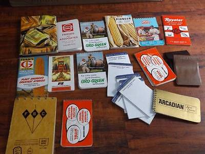 Vintage Seed Farm Booklets and Paper Memo Books Estate Sale FREE SHIPPING