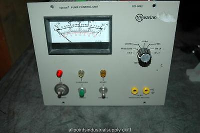 Varian 921-0062 Vacion Pump Control Controller - Powers On - 30 Day Warranty