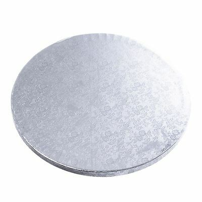 "10"" / 25cm Silver Cake Board x1 Baking Decorating Wedding Tiers"