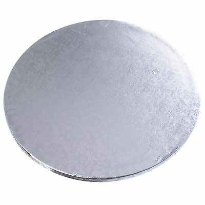 "12"" / 30cm Silver Cake Board x1 Baking Decorating Wedding Tiers"