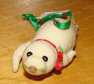 Horseradish SEAL (Home Grown by Enesco, 4015612) Christmas Ornament