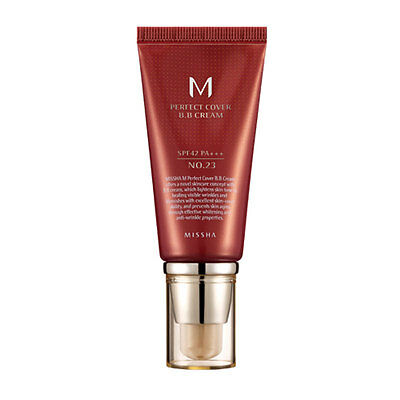 [MISSHA] M Perfect Cover BB Cream #23 Natural Beige 50ml / Recently Manufactured
