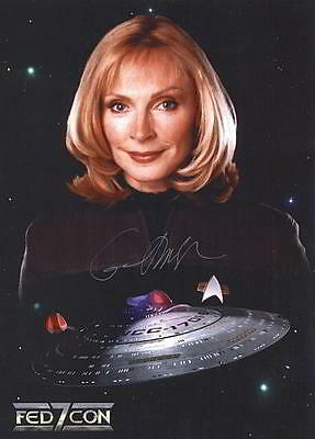 ORIGINAL Autogramm Gates McFadden * Dr. Crusher * Star Trek The Next Generation