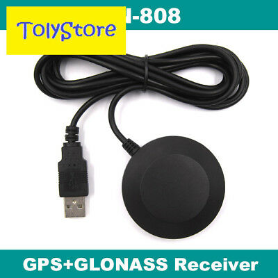 BN-808 USB GPS Receiver with magnetic base, Ublox 8, Win 7/8