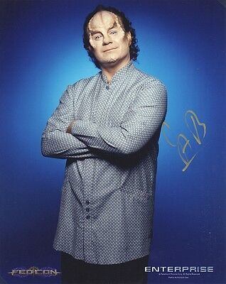 ORIGINAL Autogramm John Billingsley *  Dr. Phlox * Star Trek: Enterprise