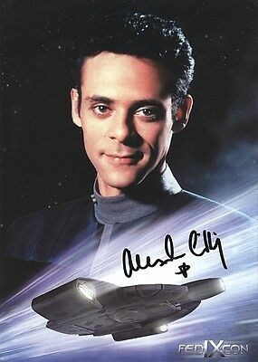 ORIGINAL Autogramm Alexander Siddig *  Julian Bashir * Star Trek: DS9 * GOT