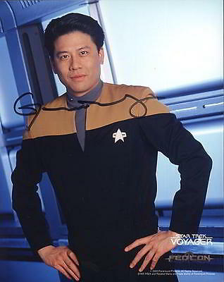 ORIGINAL Autogramm Garrett Wang * Harry Kim * Star Trek: Voyager
