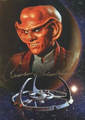 ORIGINAL Autogramm Armin Shimerman * Quark * Star Trek: DS9