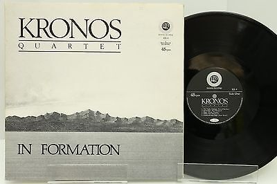 "KRONOS LP ""IN FORMATION"" 45rpm, Reference Recordings, VG++"