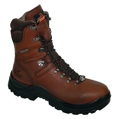 "Thorogood 8"" Omni Brown Waterproof Steel Toe Lace Up Work Boots 804-3268"