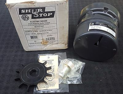 Emerson US Motors Shur Stop Electric Brake Model 0964223 for 56/143T/145T - NOS