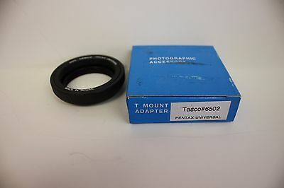 Tasco #6502 for Pentax Universal screw mount Telescope T Ring - Astro Imaging