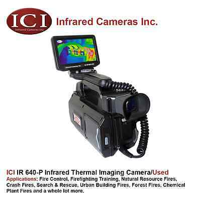 IR 640-P 640 x 480 Resolution Hand Held Infrared Thermal Camera - *Used*
