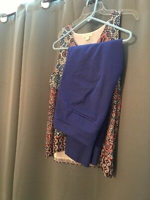 Dressy Outfit XL top And Size 10 Bottoms