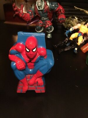 Vintage Rare  Polly Pocket Style Spiderman Compact 1996 Marvel Toy Biz