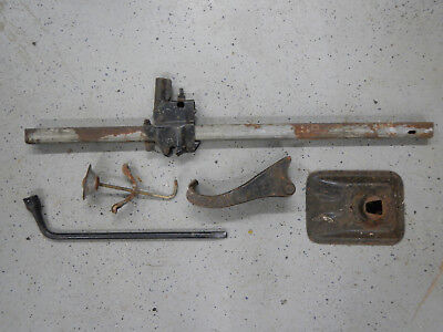 1965 Buick Skylark Bumper Jack Complete with Hold Down & Bolt & Lug Wrench 65