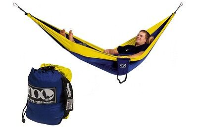 Eagles Nest Outfitters ENO SingleNest Hammock Sapphire/Yellow (Navy/yellow)