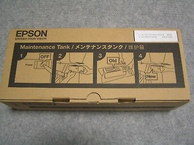GENUINE Epson Maintenance Tank PXMT3 C12C890500 STYLUS PRO 7700 9700 C890500 NEW