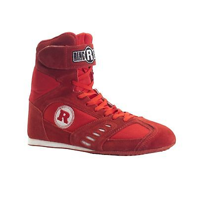 Ringside Power Boxing Shoes (Red 10) Red