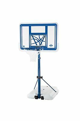 Lifetime 1306 Pool Side Height Adjustable Portable Basketball System with Cle...