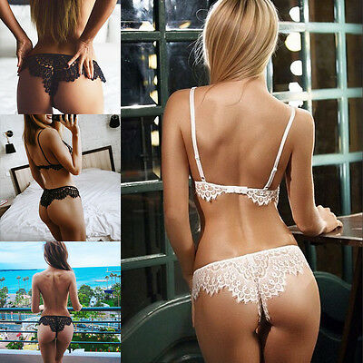 Women's Sexy Lace G-string Briefs Panties Thongs Lingerie Underwear Knickers