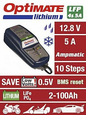 Optimate Lithium 5A Motorcycle Charger Specially for LiFePO4 Batteries