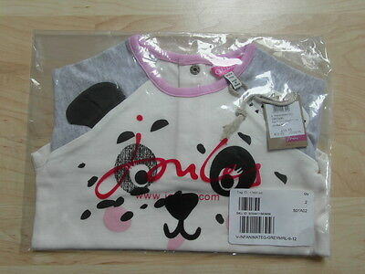 Bnwt Joules Baby Girls Top Age 9-12 Months