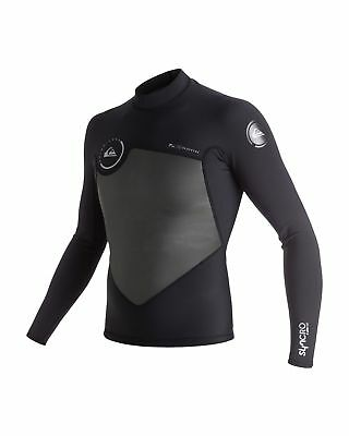 NEW QUIKSILVER™  Mens Syncro 1.5MM Long Sleeve Mesh Wetsuit Jacket 2016 Surf