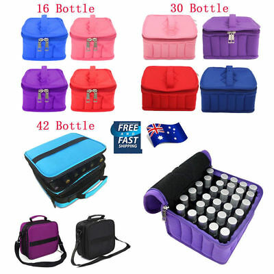 42 Bottles Essential Oil Carrying Storage Case Aromatherapy Holder Bags Boxes