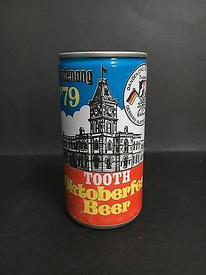 "Beer Can ""tooth"" Oktoberfest Beer From Dandenong 1979"