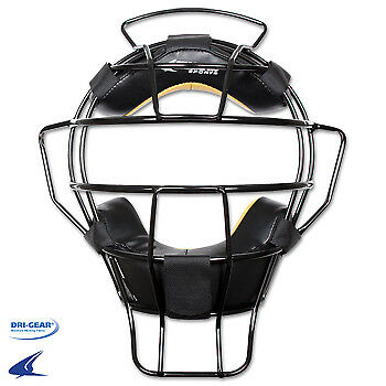 Lightweight Umpire Mask Black