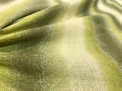 Linen Dress Fabric -  Garden Stripes  - Linen Dress Fabric