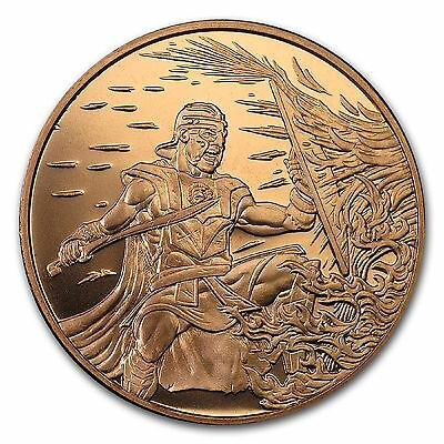 Crucible 1 oz .999 Copper Round - Only 2,540 Minted (Reg'd Post)