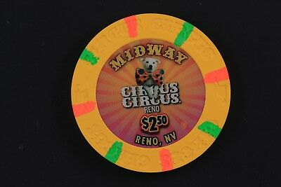 Reno, NV 2.50 Chip from Circus Circus