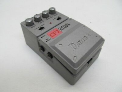 Ibanez Cf7 Chorus / Flanger Guitar Effects Pedal