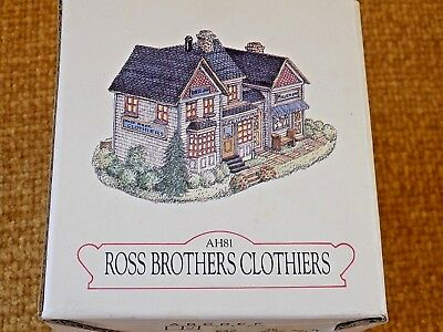 Liberty Falls Collection Ross Brothers Clothiers Figurine
