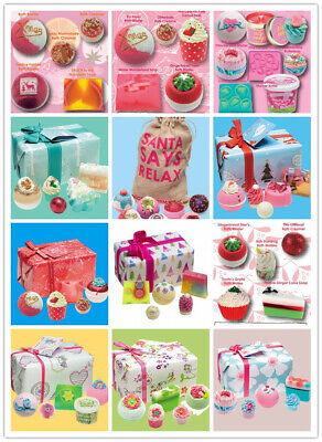 Bomb Cosmetics Luxury Bath & Soap Body Pamper Gift Packs Sets Handmade Christmas